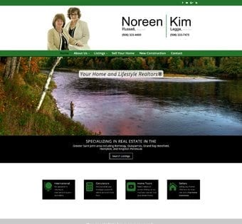 Noreen Russell and Kim Legge