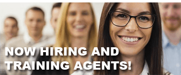 Now hiring and training agents
