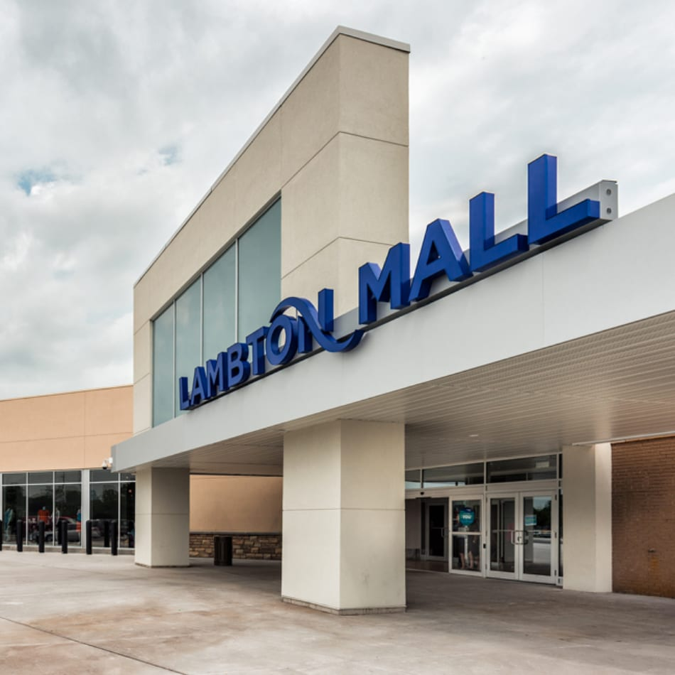 Lambton Mall in Central and South Sarnia